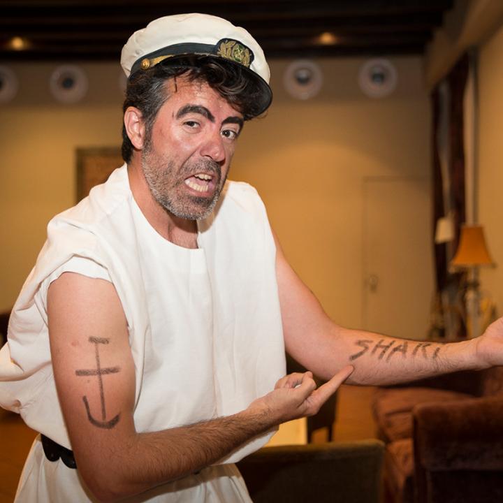 Él vino en un barco. Cata sobre el mito del marinero