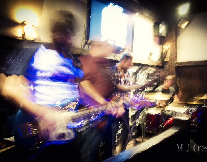 El mejor rock experimental e instrumental de Ants on the Moon en el café-bar La Leyenda