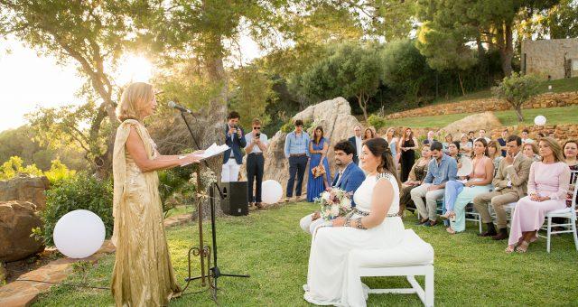 Cristina y Nicasio. Una boda íntima con mucho encanto.